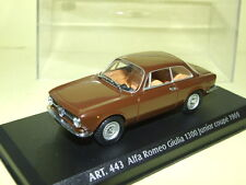 ALFA ROMEO GIULIA 1300 JUNIOR Coupe 1969 Marron DETAILCARS 443