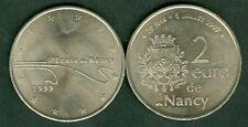 2 EURO TEMPORAIRE DES VILLES DE NANCY  1999