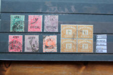 LOT STAMPS U.K. OFFICIAL USED (F110408)