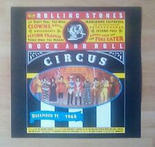 """ROLLING STONES Promotional 12"""" x 12"""" Card (Flat)   Rock And  Roll Circus"""