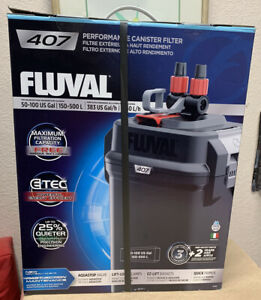 New Sealed Box- Fluval 407 Performance Canister Filter - up to 100 US gallon