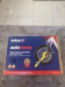 NEW Bulldog AutoClamp CC100 For Cars & Caravans