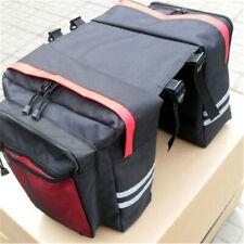 Waterproof Double Panniers Bag Bike Bicycle Cycling Rear Seat Trunk Rack Pack