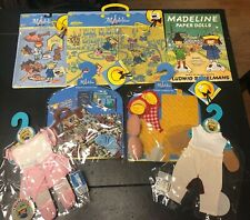 Madeline 2002 Ragdoll Accesssory Sets & Outfits Lot of 7 New by Learning Curve