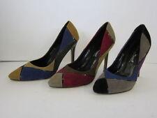 Multi-Coloured Slim Court Heels for Women