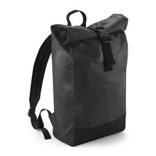 Bagbase Tarp Roll Top Backpack Bag Waterproof Rucksack Unisex Urban (BG815)