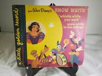 Golden Age Lil' Golden Record 1949 Snow White Whistle While You Work     ID:1476