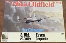 Mike Oldfield Group Original Concert Tour Gig Poster Gruggahalle Essen 1982