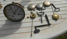 ancien mouvement de pendule clef timbre ou cloche pendule