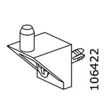 4x IKEA Billy u. Pax Original Ersatzteil Bodenträger 106422 Halter