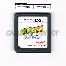Chibi-Robo Clean Sweep ENGLISH Nintendo DS Happy Richie Oosouji Custom Cartridge