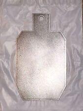 """AR500 7"""" X 12"""" IPSC/IDPA 3/8"""" Steel Action Pistol Target Hanger Gong"""