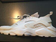 Nike Air Huarache Run Ultra BR Triple White / White size 14 833147 100 NEW