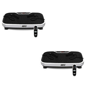 Hurtle Vibration Plate Machine for Home Body Exercise Workout Training (2 Pack)