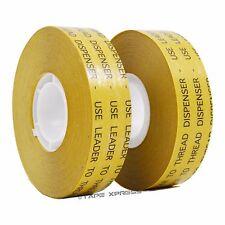 "2 rolls 3/4"" ATG Adhesive Transfer Tape (Fits 3M Gun) Photo Crafts Scrapbooking"