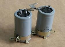 Pièce détachée Amplificateur SCOTT A436.Deux condensateurs de filtrage.