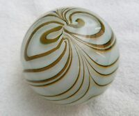 Vintage Glass Paperweight (Used)