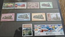 New Zealand Trains Mint and Used