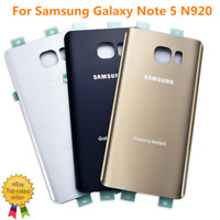 New For Samsung Galaxy Note 5 N920 Battery Cover Glass Housing Back Door