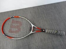 Wilson Strike Titanium Soft Shock Tennis Racquet Racket Red /4A2