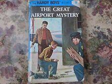 Hardy Boys The Great Airport Mystery 9 Franklin W Dixon Flashlight ed