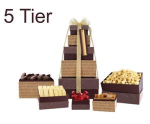 Festive Tower of Treats Luxurious Christmas Treat Make A Nice Xmas Gift
