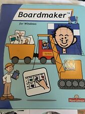 Boardmaker Windows Mayer Johnson PECs Communication Autism Speech Therapy AAC