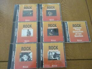 "Lot N°2  de 7 CD  "" les génies du ROCK ""  éditions ATLAS  voir les photos"