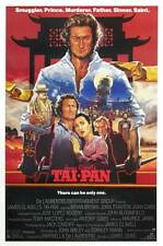 TAI PAN Movie POSTER 27x40 C Bryan Brown Joan Chen John Stanton Kyra Sedgwick