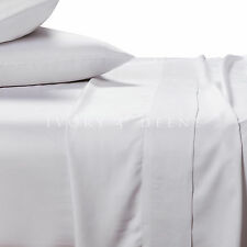 100% BAMBOO SHEET SET 400TC King Size New Snow White Soft Healthy&Anti Bacterial