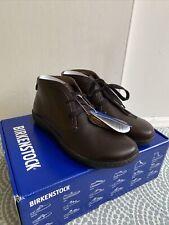 Birkenstock Scarba Boot Brown Espresso Size 4.5 Narrow Fit Leather