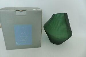 Broste Borje Mouthblown Vase Sycamore Green