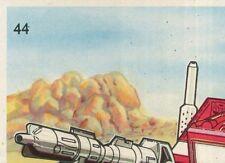 REYAUCA 126 SLAG STICKER TRANSFORMERS 1986 PANINI