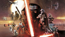 STAR WARS THE FORCE AWAKENS WALL MURAL Prepasted & Strippable Wallpaper Decor