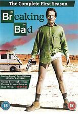 BREAKING BAD<>THE COMPLETE FIRST SEASON<>DVD<>2012<>3-Disc Set  ~
