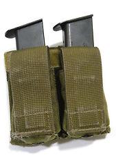 London Bridge LBT-6038A Double Pistol Magazine Pouch Kydex Khaki Navy SEAL NSW