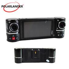 "F600 120 Degree Dual-lens Rotate Car Dvr 2.7"" Lcd Hd Display Ir Night Vision Sos"