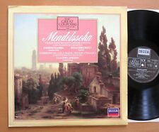 410 494-1 Ruggiero Ricci Mendelssohn Violin Concerto Pierino Gamba NM  + booklet