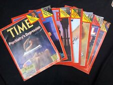 TIME Magazine - April 2 1979-May 14 1979 - Lot of 7 Magazines