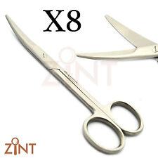 Professional Mayo Forbici schietto SHARP CURVO TAGLIO suture Dental Lab strumenti