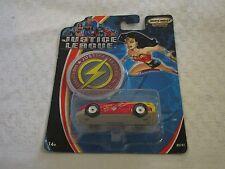 Matchbox Collectibles Justice League The Flash Car Wonder Woman Card Error