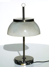 SERGIO MAZZA Artemide table lamp 60s italian design rare model marble glass