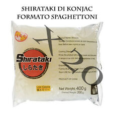 Shirataki Di Konjac Formato Spaghettoni -Box Risparmio City Aroma 20 X 200 Gr.