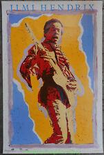 Jimi Hendrix Poster Osp Commercial Print 1980s Original 23x35 Inch