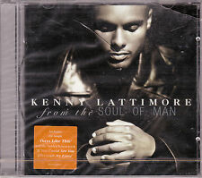 CD 16T KENNY LATTIMORE  FROM THE SOUL OF MAN 1998 NEUF SCELLE