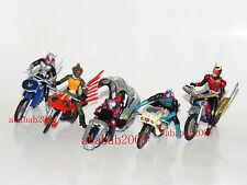Bandai Masked Rider Machines Chronicle part.1 gashapon figure ( Full set 5 Pcs)