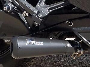 2010-2013 Can-Am Spyder RT exhaust RLS Exhaust Assassin  series Black Shorty