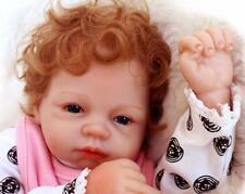 """22"""" Reborn Baby Recién Muñeca Realista Silicona Bebé Niña Lifelike Juguete 290HH"""