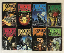 Lot Of 8 Vintage Dr. Who Pinnacle Fiction Pbk Books Missing #8