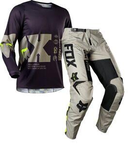 2021 Fox 180 Motocross Offroad MX Race Kit Gear ILLMATIK Sand Purple Adults